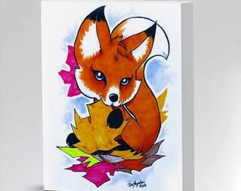 Baby Fox Nursery decorkids room art Fox Nursery Art Print 8x10 11x14 16x20 fox drawing