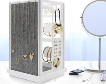 4Panels Jewelry Organizer, Modern And Minimalist