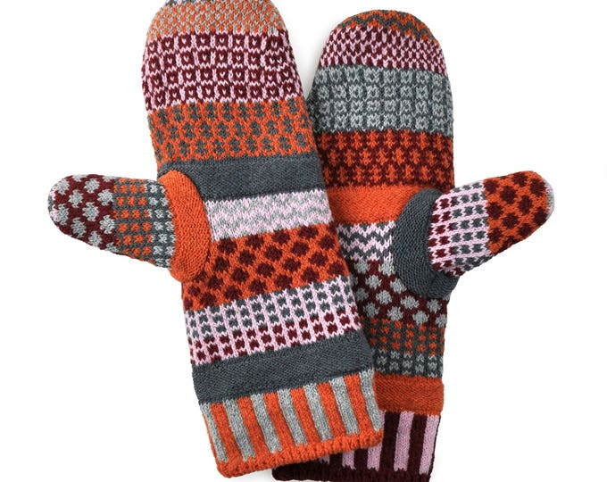 Solmate Accessories - Persimmon Fleece Lined Mittens Limited - Available to order through midnight November 27th!