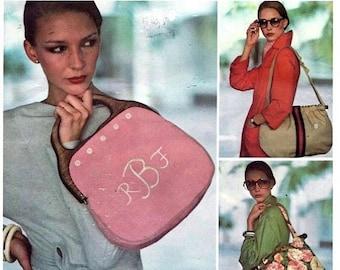 ON SALE Vogue 1406 Misses Handbags Sewing Pattern, UNCUT