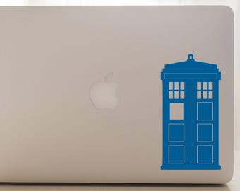 Doctor Who Decal, TARDIS, Car Decal, Doctor Who Car Decal, TARDIS Laptop Decal, Doctor Who