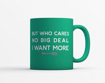 I WANT MORE Motivational MUG - Fairytale Gift - Mermaid Mug