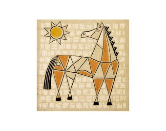 Horse Wallpaper, Photo of Horse Art, Girl's Boy's Decor, Animal Photography, Cowboy, Western Art