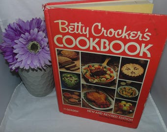 Vintage Betty Crocker's Cookbook Golden New and Revised 1980 3rd print Hardcover