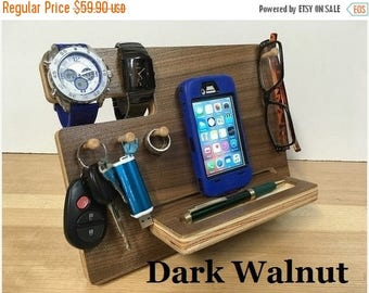 50% OFF SALE - Father's Day Gift, iPhone Dock, Made of High Grade Cabinet Plywoods, iPhone Docking Station, Gift for Him