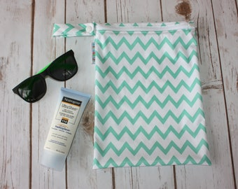 Wet Bag,Wet Dry Bag,Cosmetic Bag,Pool Bag,Cloth Diaper Wetbag,Cloth Pad Wet Bag,Wet Bikini Bag,PUL Bag,Dirty Diaper Bag,Chevron Bag,Wetbag