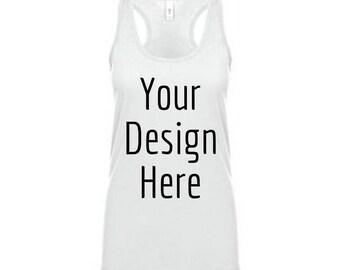 Custom tank top design.