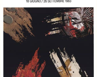 Hans Hartung-L'Informale in Italia-1983 Poster