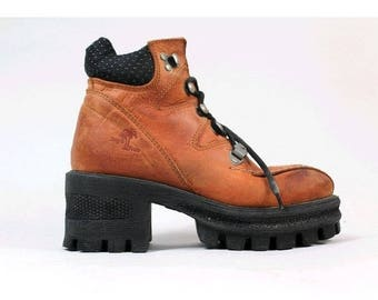 1990s Cyber chunky shoes us4 fr35/90s patforms