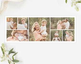 Collage Facebook Cover Template for Photographers, Facebook Timeline Cover Template Photoshop, Facebook Cover Photo, Header Template  FB196