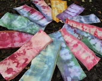 Organic Cotton Tie Dye Headbands