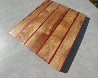 Purpleheart Myrtlewood Cutting Board