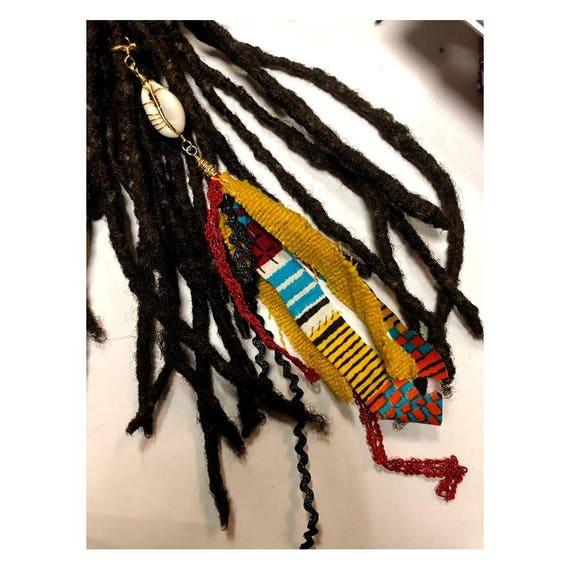Cuff Tassel Dreadlock Tassel Loc Jewelry Tassel Ear Cuff #5