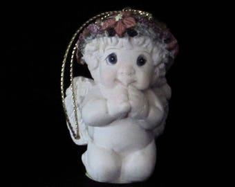 Dreamsicle Cherub - Angel - Woodland Fairie in Original Box - Eager To Please