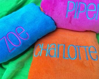 View Monogram Beach Towels by MonogramWorks on Etsy