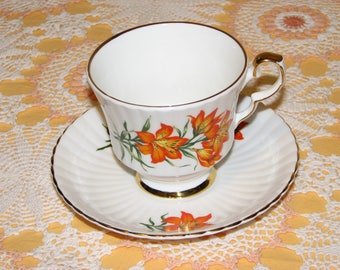 Prairie Lily Royal Windsor Bone China Teacup