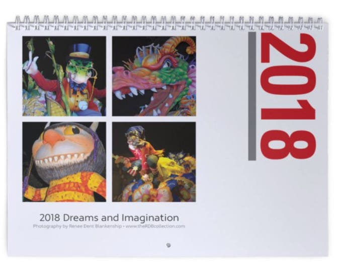 New Orleans 2018 Calendar Storybook Characters