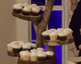 Rustic Wedding Cake/Cupcake Holder