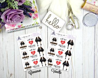 BFF...With Love Sticker Sheet