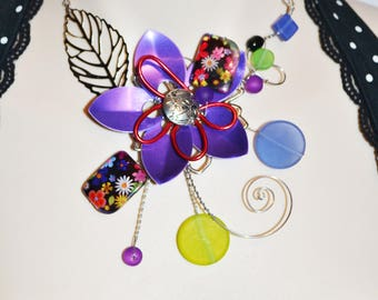 collier sculptural  /sculptural necklace