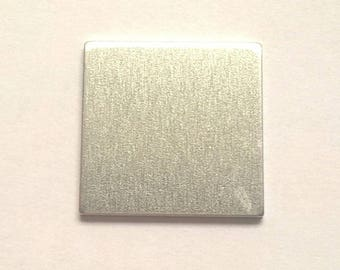 Sale on Aluminum Blank Squares 14g Aluminum Stamping Blanks Hand Stamping Jewelry Supplies Necklace
