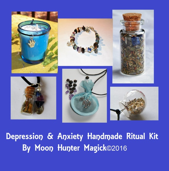 Custom Three Item Combo Ritual Supply Kit Choose Your Intention and Save Time Navigating
