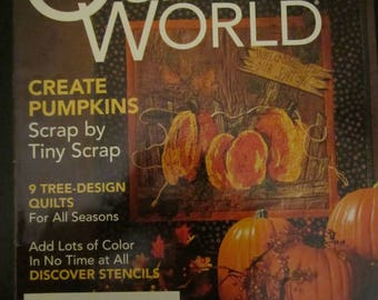 Quilter's World October 2006