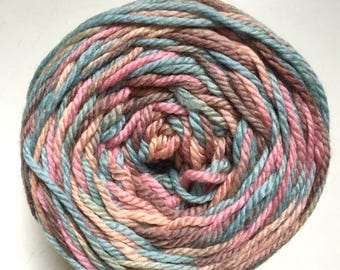 50% Off Lornas Laces Hand Dyed Superwash Merino Wool Shepard Worsted Dusty Pastels 225 Yards