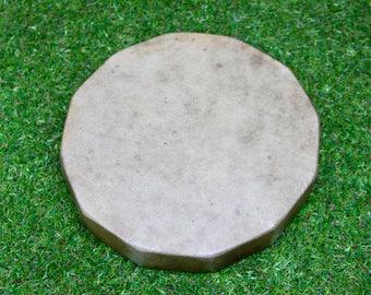 "10"" Red Deer/Stag Rawhide Drum. Thunderous Drum Native American Style / Shaman / Pagan Drum"