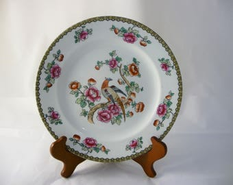 Pheasant Plate By F. Winkle & Co. England, Whieldon Ware