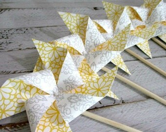 Wedding Decorations Wedding Favors Paper Pinwheels Wedding Bouquet Guest Gifts Centerpiece Wedding Decoration Bridal Shower Birthday Favors