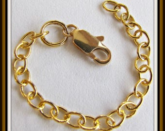 2 inch Extender Chain,  Necklace Extender, Bracelet Extender,Anklet Extender,  Gold, Copper, Silver, Antique Brass, Soldered links
