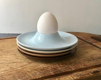 vintage melamine eggcups set of 4