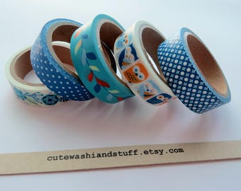 Masking Tape Washi Tape Set Baby Boy - 5x5 mt