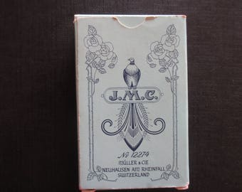 Vintage Tarot Cards Mlle Lenormand  Fortune Telling Cards 1970