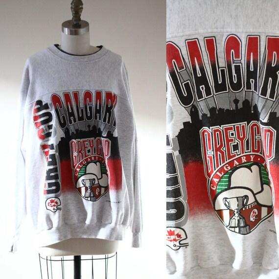 1990s Calgary Grey Cup sweatshirt // 1990s Calgray sweatshirt // vintage sweatshirt