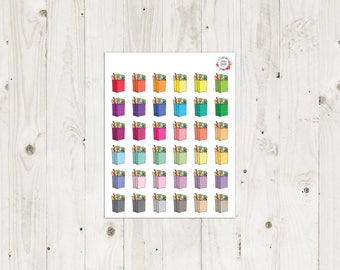 Grocery Bag Planner Stickers - ECLP Stickers