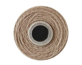 240 Yards of Solid Cappuccino Brown Baker's Twine - Packaging Gift Wrap Craft Party Supplies