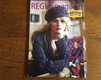 CATALOGUE OF REGIA MAGAZIN COLORS SCHACHENMAYS KNITS