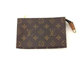 Authentic Louis Vuitton Pouch Bag with Ring