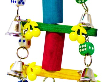 1757 Bell Spin Bird Toy