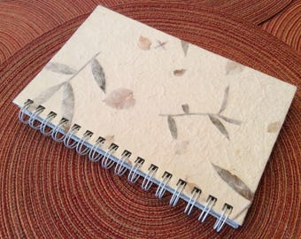 paper supplies ... FLORAL LEAF lined pages JOURNAL ...