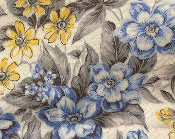 Country French Floral Oval Tablecloth by Vallesusa Casa