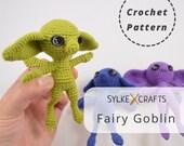 Fairy Goblin PDF Crochet Pattern