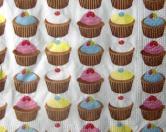 """Cupcakes"" towel"