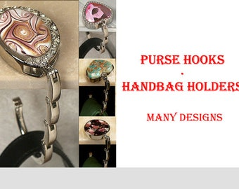 Handbag Hanger Purse Hook Gift for Women Bridal Shower Favors with 5 Unique Designs