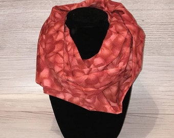 70% off Pink Plumeria Floral or Teal Seahorse • Adult Infinity Scarf
