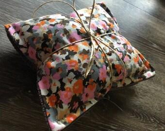 Medium Floral lavender heatpack