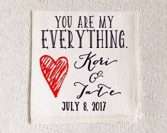 wedding handkerchief, wedding handkerchief set, father of the bride handkerchief, wedding, printed handkerchief, cotton handkerchief, gift