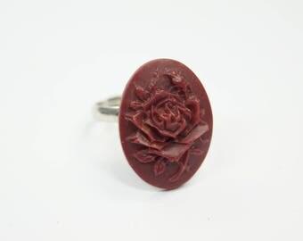 Ring Flower darkred